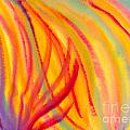 Abstract Colorful Lines by Kerstin Ivarsson
