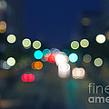 Abstract Colorful Round Bokeh Lights by Beverly Claire Kaiya