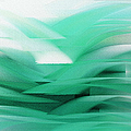 Abstract Cool Waves 2  by Andee Design