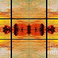Abstract Cracker Tapestry by Nina Silver