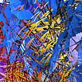 Abstract Curvy 11 by Russell Kightley
