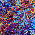 Abstract Curvy 36 by Russell Kightley