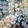Abstract Daisy Remix  by Karin  Dawn Kelshall- Best