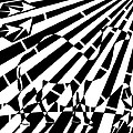 Abstract Distortion Camel Maze  by Yonatan Frimer Maze Artist