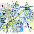 Abstract Drawing Seven by Lynne Taetzsch