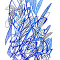 Abstract Drawing Seventy by Lynne Taetzsch