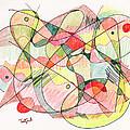 Abstract Drawing Twenty by Lynne Taetzsch