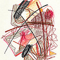 Abstract Drawing Twenty-one by Lynne Taetzsch