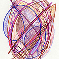 Abstract Drawing Twenty-two by Lynne Taetzsch