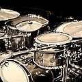 Abstract Drum Set by J Vincent Scarpace