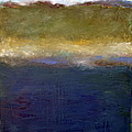 Abstract Dunes Ll by Michelle Calkins