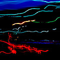 Abstract Evening Lights 2 by Chase Taylor