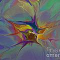 Abstract Explosion by Deborah Benoit