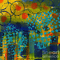 Abstract Expressions - Background Art by Angela L Walker