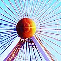Abstract Ferris Wheel by Eric  Schiabor