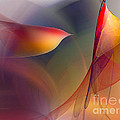 Abstract Fine Art Print Early In The Morning by Karin Kuhlmann