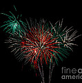 Abstract Fireworks by Robert Bales