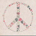 Peace Symbol Design - S77bt01 by Variance Collections
