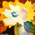 Abstract Flowers 2 by Marilyn Jacobson