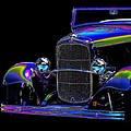 Abstract Ford - Classic Hotrods by William Bartholomew