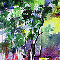 Abstract Forest Path #1 by Ginette Callaway