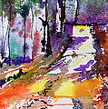 Abstract Forest Path #2 by Ginette Callaway