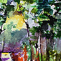 Abstract Forest Path #3 by Ginette Callaway
