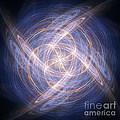 Abstract Fractal Background 17 by Antony McAulay