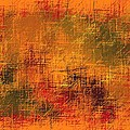 Abstract Golden Earth Tones Abstract by L Brown