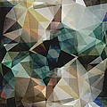 Abstract Grunge Triangles by Phil Perkins