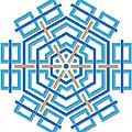 Abstract Hexagonal Shape by Jozef Jankola