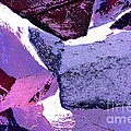 Abstract In Purple by Regina Geoghan