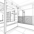 Abstract Interior Construction by Nenad Cerovic