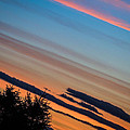 Abstract Irish Sunset by James Truett