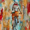 Abstract Lady 4  by Susan Goh