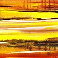 Abstract Landscape Found Reflections by Irina Sztukowski