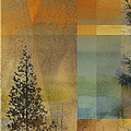Abstract Landscape One by Faye Cummings