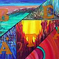 Abstract Landscapes by Anna Ruzsan