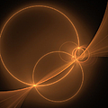 Abstract Light Flight by Gabiw Art