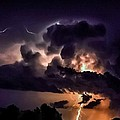 Abstract Lightning 14 by Jesse Post