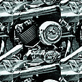 Abstract Motor Bike - Doc Braham - All Rights Reserved by Doc Braham