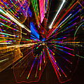 Abstract Neon Colored Lights by Imagery by Charly