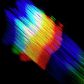 Abstract Pattern With Diffracted Light by Alfred Pasieka/science Photo Library