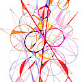 Abstract Pen Drawing Fifty-one by Lynne Taetzsch