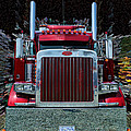 Abstract Peterbilt by Randy Harris