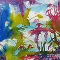 Abstract -  Primordial Life by Ellen Levinson