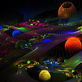 Abstract Psychedelic Fractal Art by Keith Webber Jr