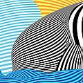 Abstract - Sailing by Mike Savad