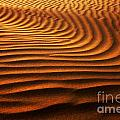Abstract Sand Pattern  by Sorin Rechitan