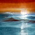 Abstract Seascape by Natalie Kinnear